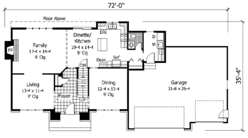 2300 square feet house plans
