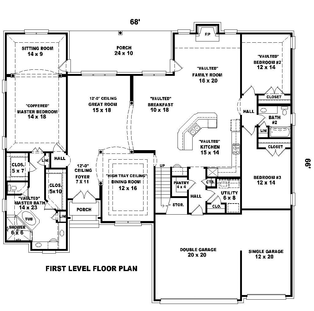 2300 square foot house plans