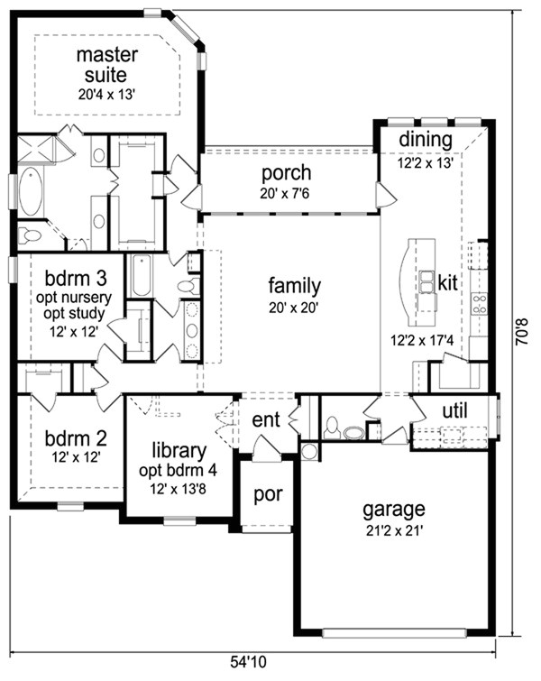 2987 square feet 3 bedroom 2 5 bathroom 2 garage traditional 38191