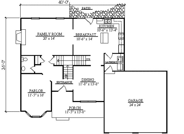 2300 square feet 4 bedrooms 2 5 bathroom traditional house plans 2 garage 17512