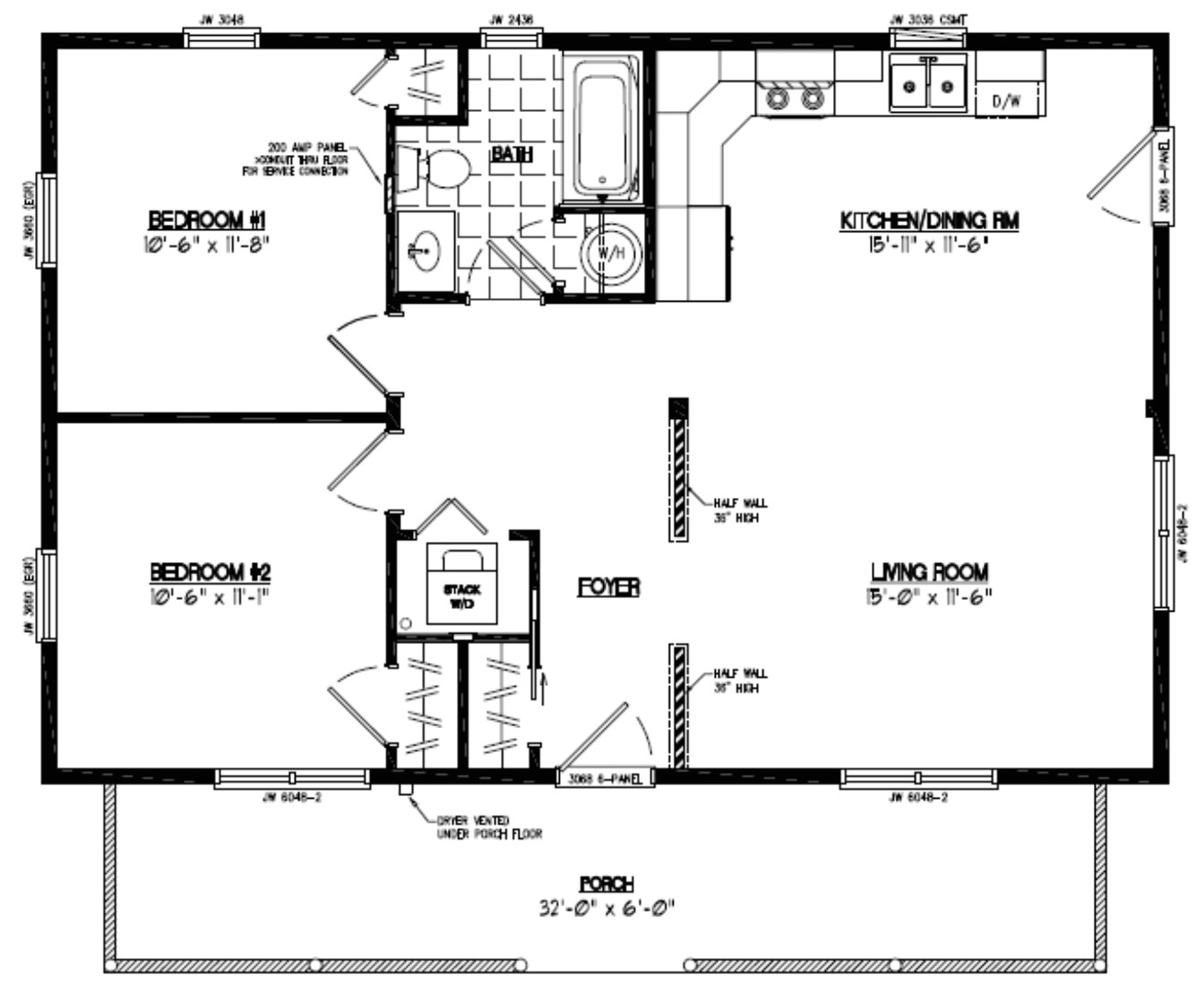 24×36 2 Story House Plans 24 X 36 2 Story House Plans