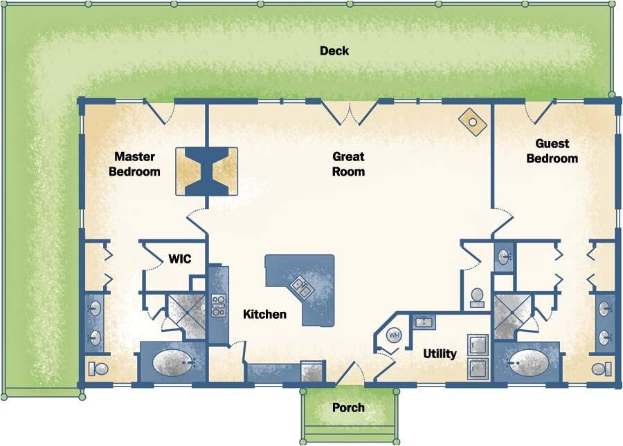2500 Sq Ft Log Home Plans Runner Up Best Log Home Plan Under 2 500 Square Feet