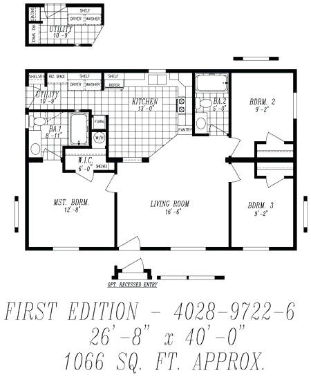 28x48 house plans