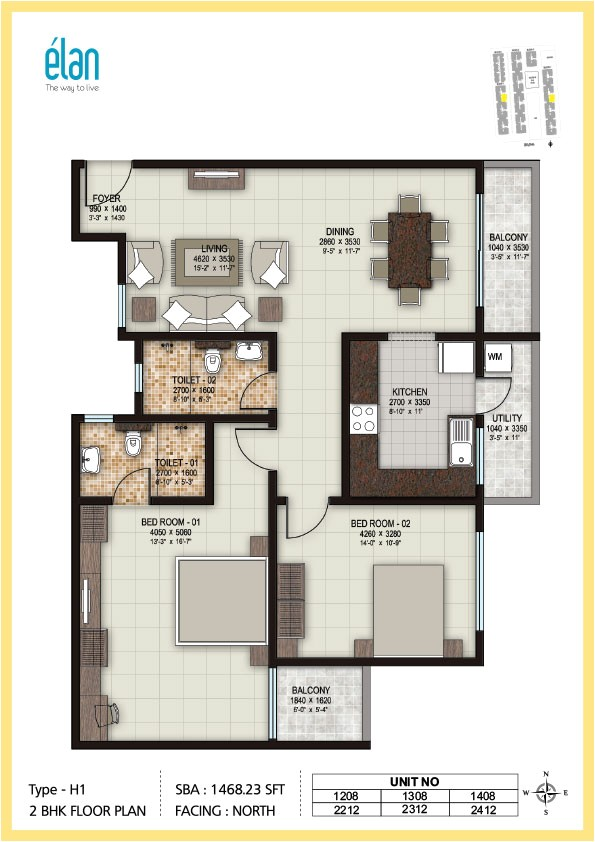 2bhk Plan Homes