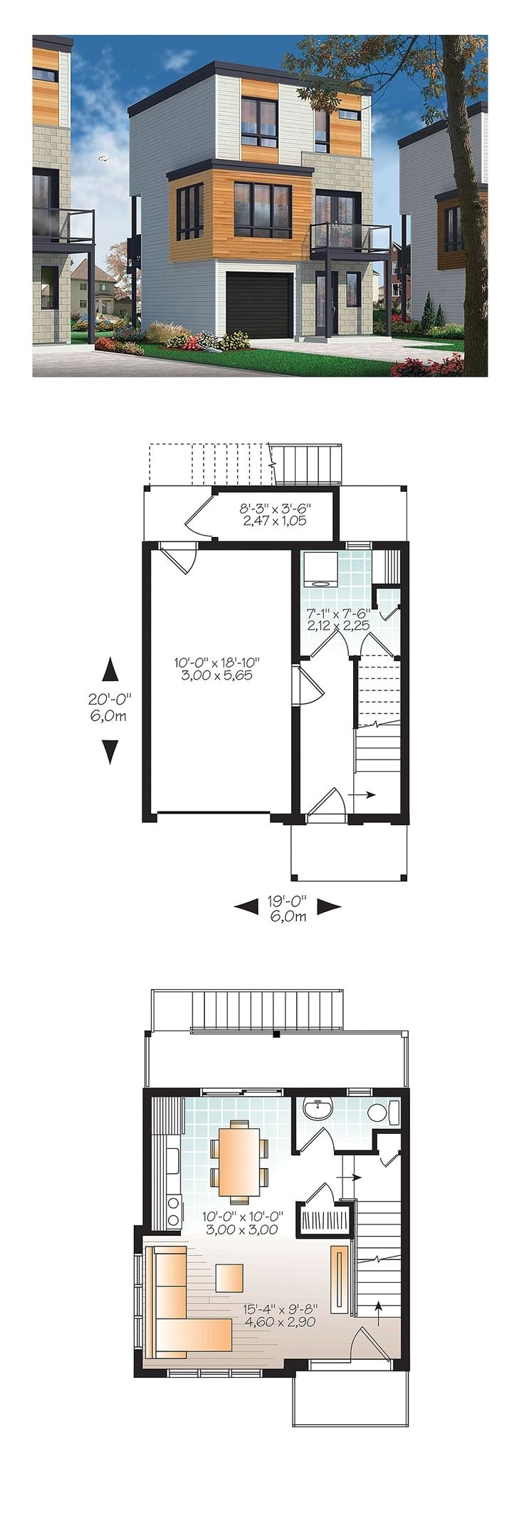 3 bedroom house plans under 1000 sq ft