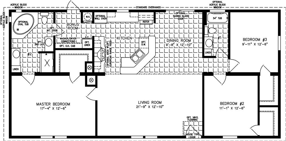 1400sqft 1599sqft manufactured homes