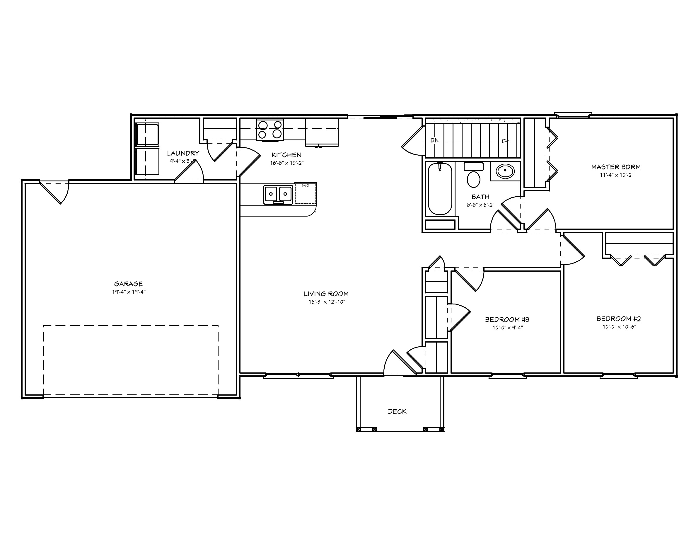 small house plan d67 1031