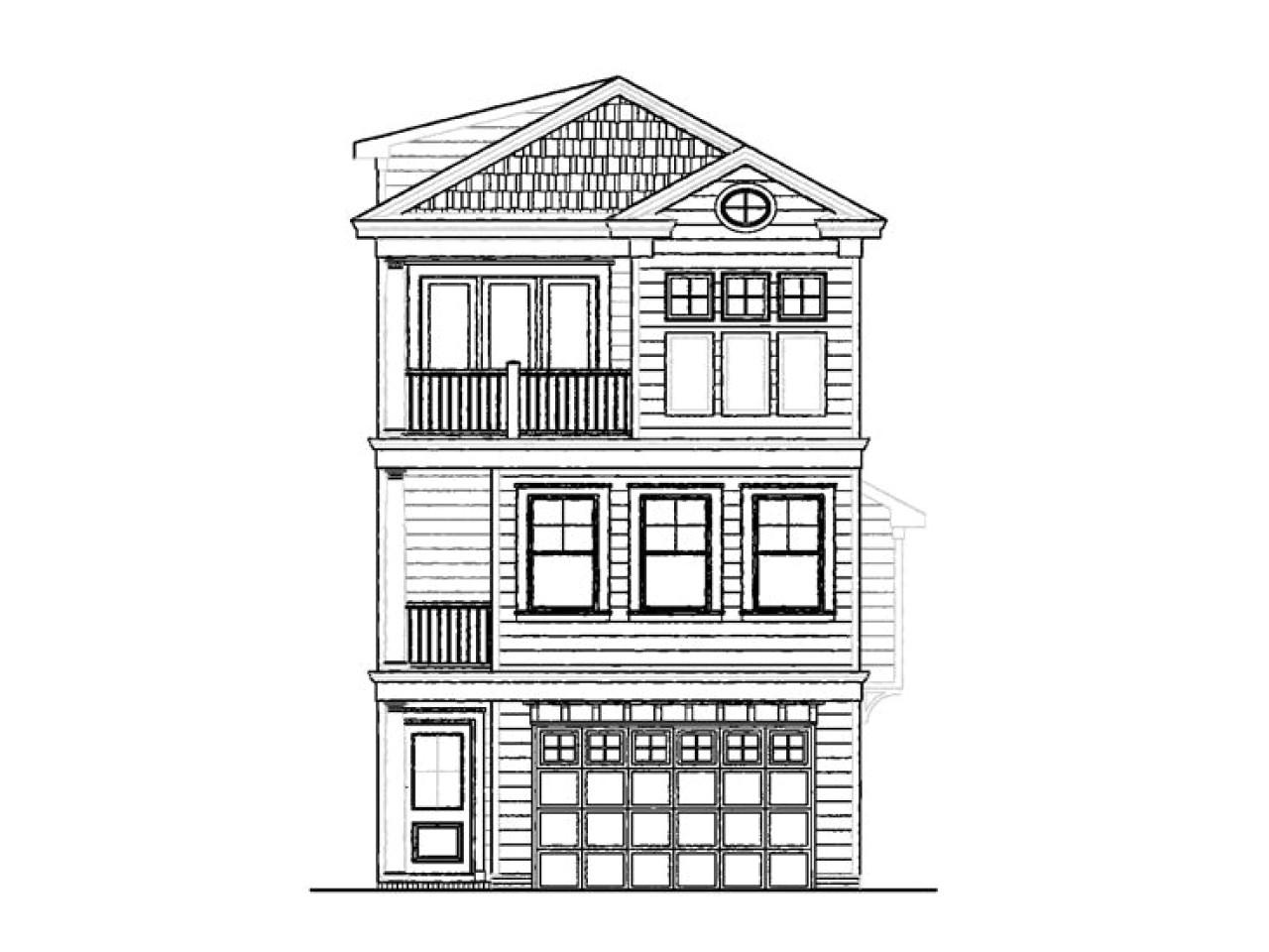 fe126b845bea27c3 narrow lot cottage house plans 3 story narrow lot house plans for beach