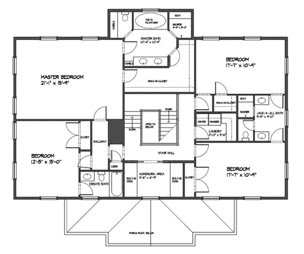 3000 square feet 4 bedrooms 3 5 bathroom traditional house plans 2 garage 35275