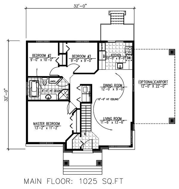 32x32 cabin plans