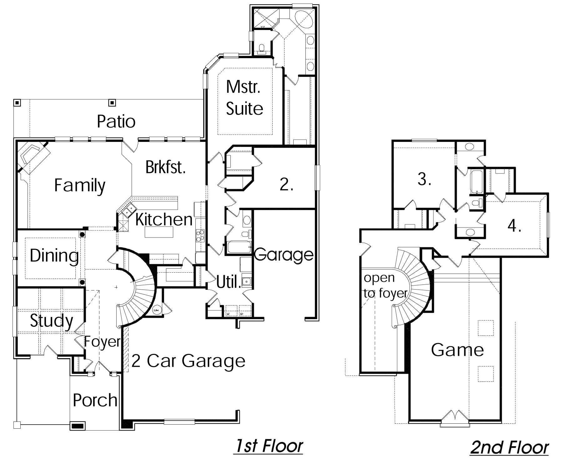 32x32 house plans