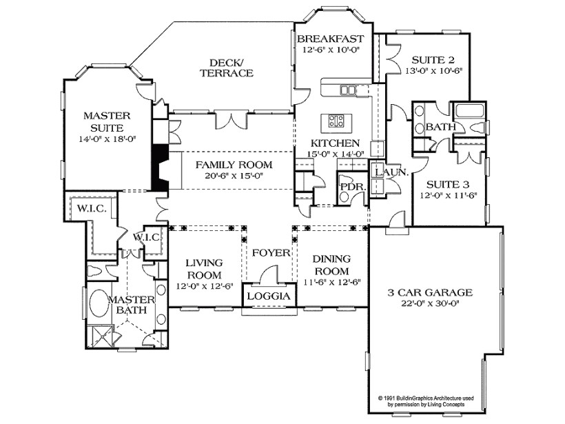craftsman style house plan 3 beds 00 baths 2500 sq ft