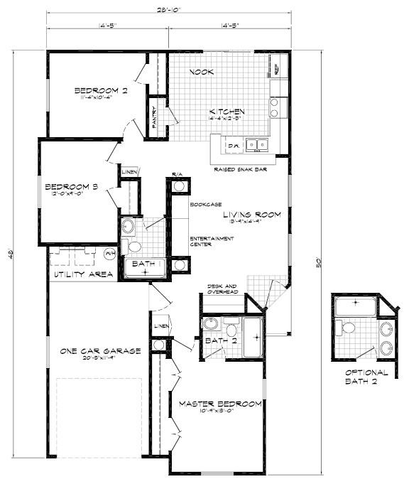 sausalito 3br 2ba 1363 sq ft