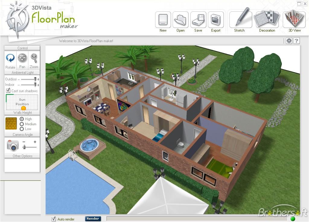 floor plan 3d free