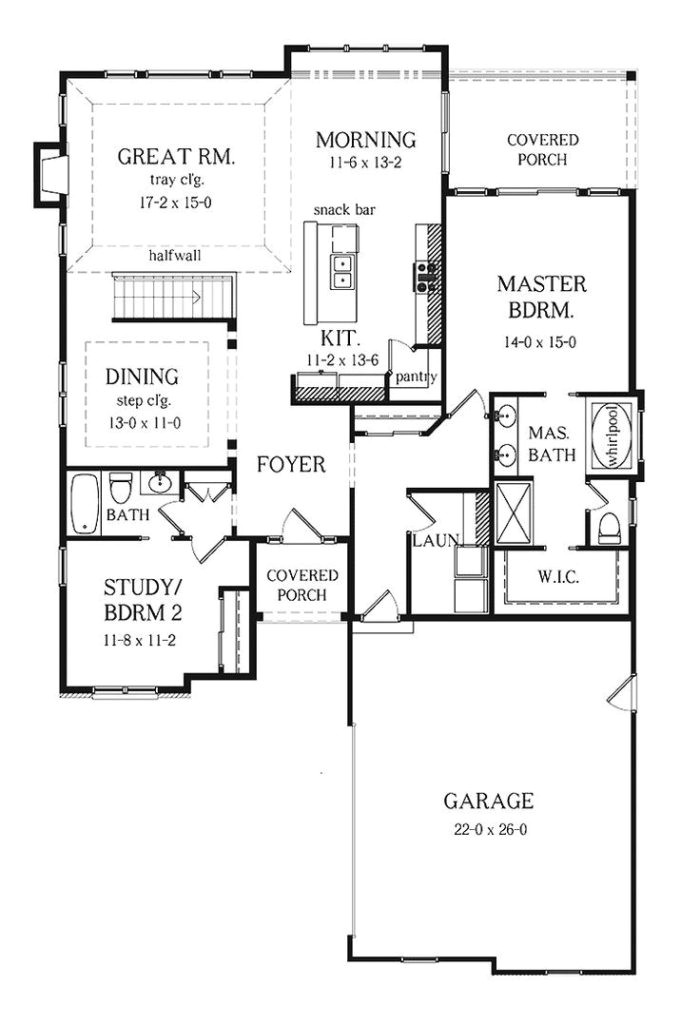 two bedroom ranch style house plans fresh sweet idea 3 bedroom 2 bath house plans with basement best 25