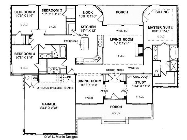 4 bedroom house plans 3000 square feet