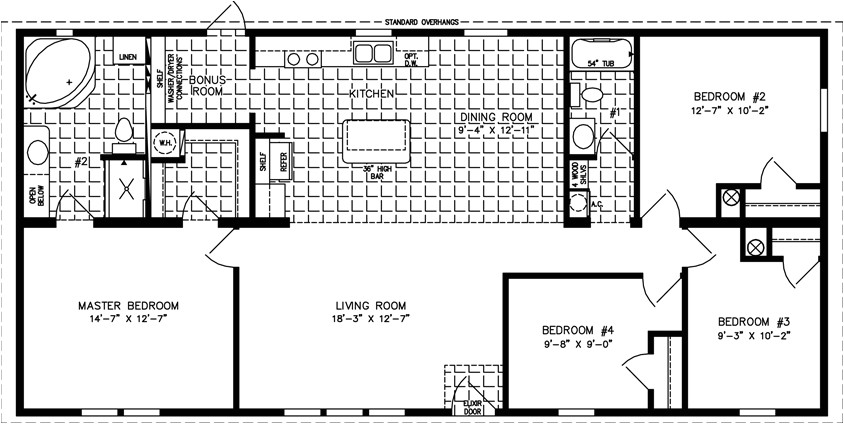 large manufactured modular homes