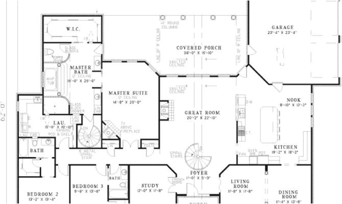 ranch style house plans with walkout basement