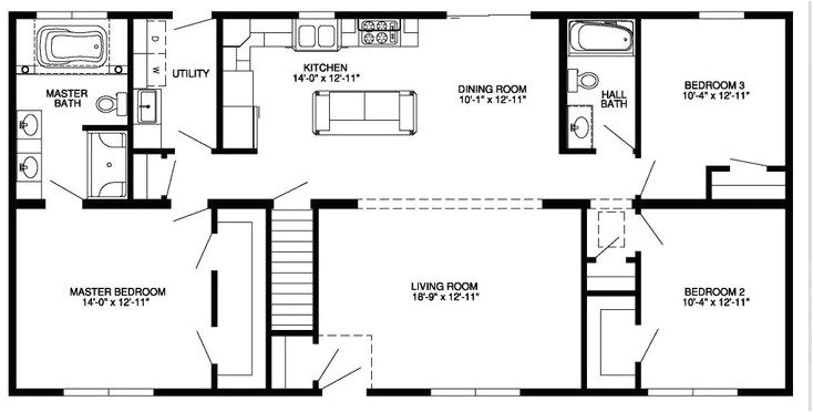 4 bedroom house plans with walkout basement