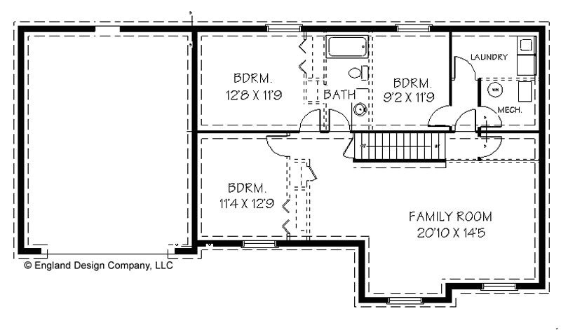 home floor plans with basements
