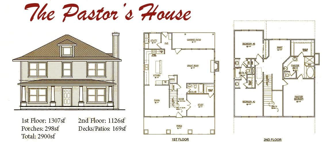 four square house plans
