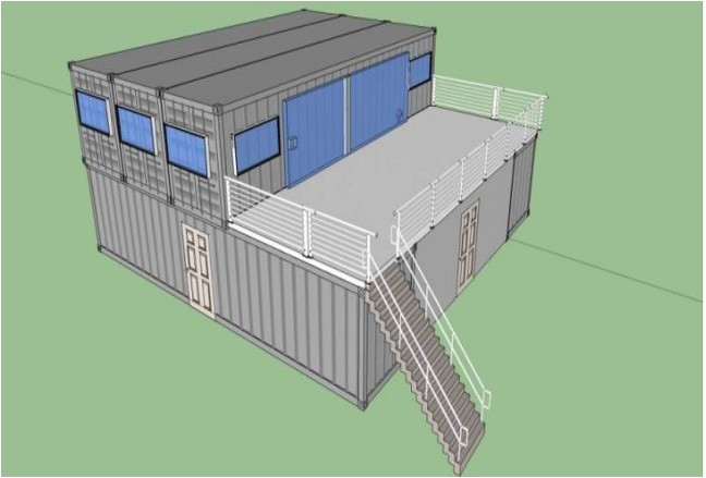 40ft container homes drawing plans