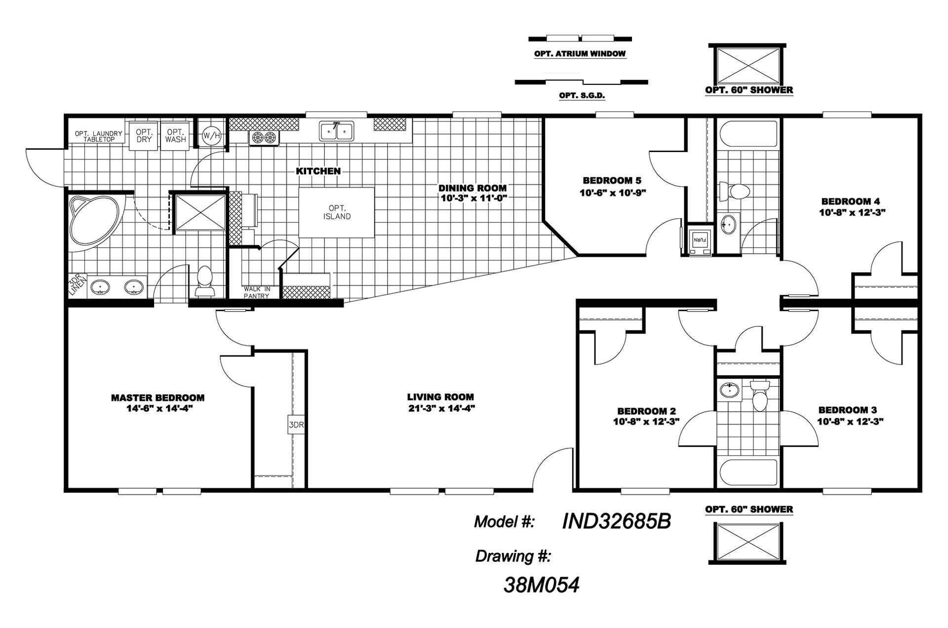 manufacturedhomefloorplan floorplan 5288 state ok city fay