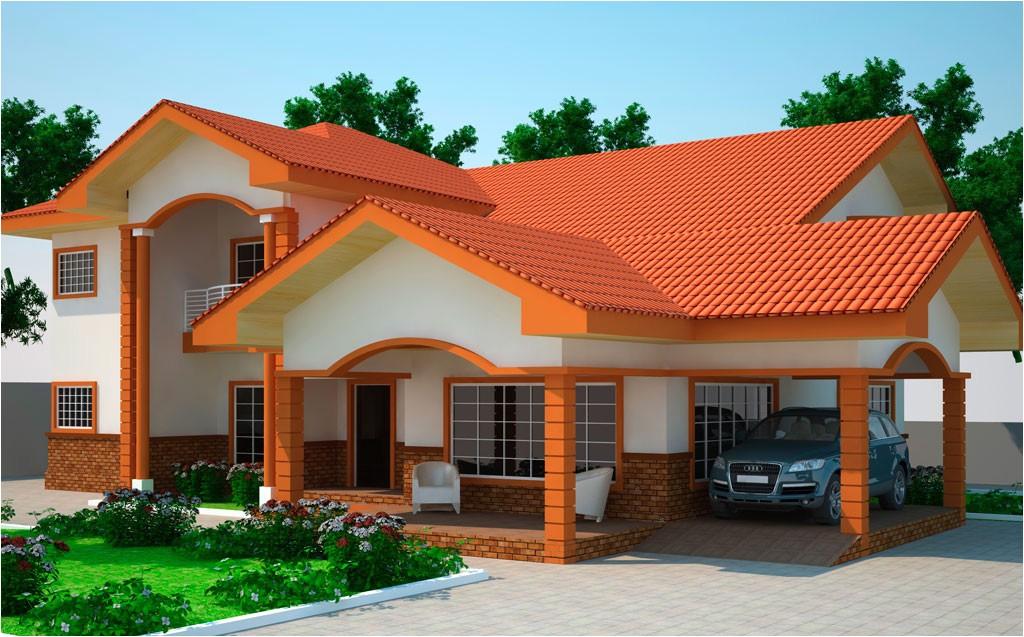 5 Bedroom House Plans In Ghana House Plans Ghana Kantana 5 Bedroom House Plan In Ghana