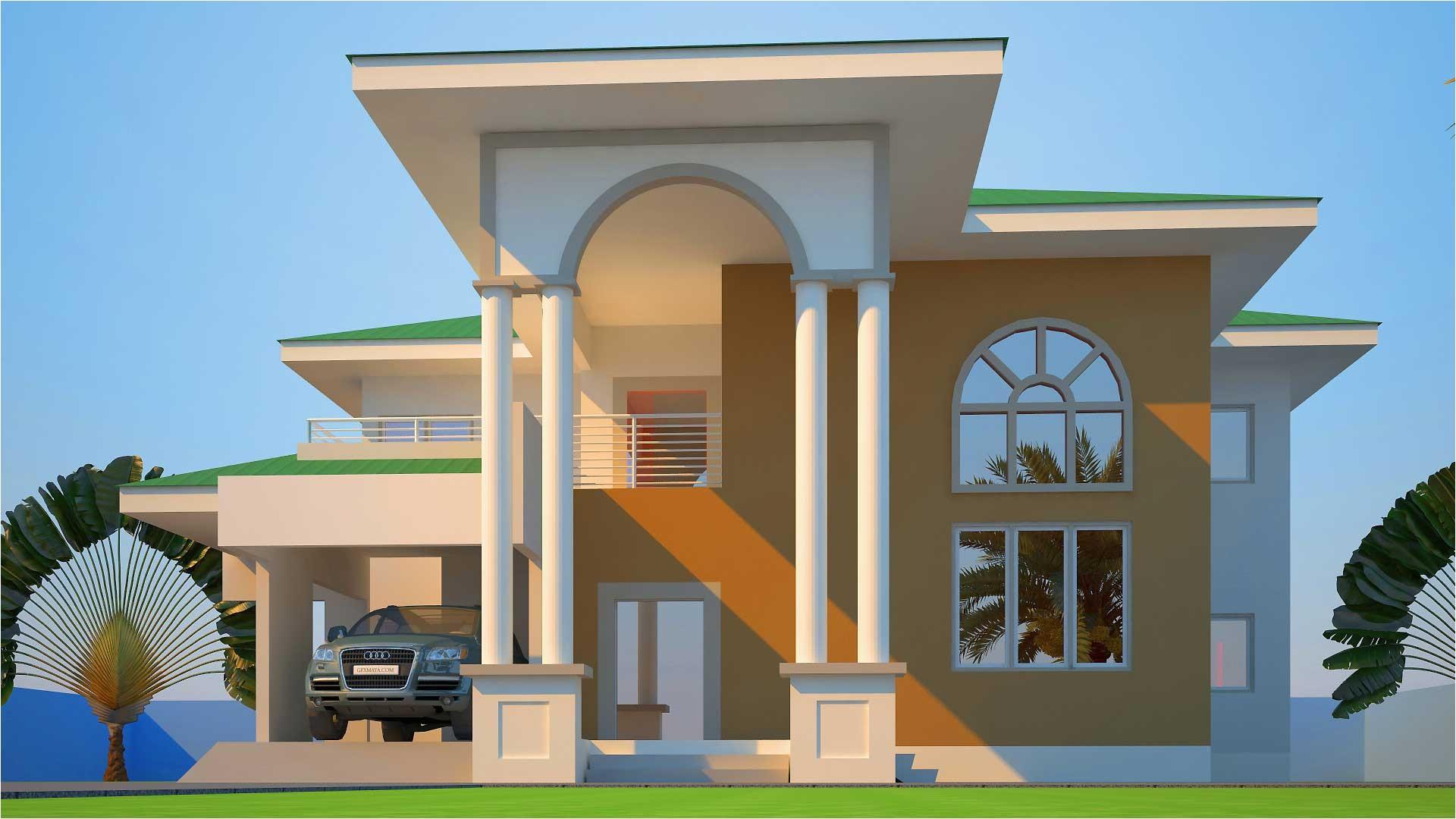 mabiba 5 bedroom house plan