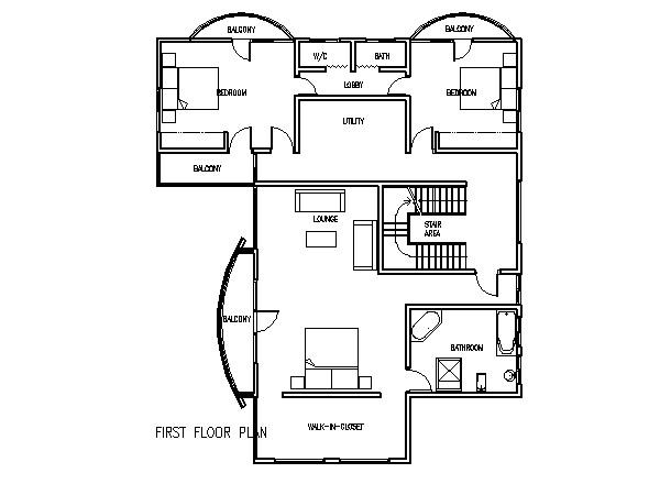 sena 5 bedroom house plans in ghana 1
