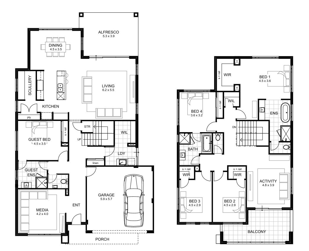 5 bed