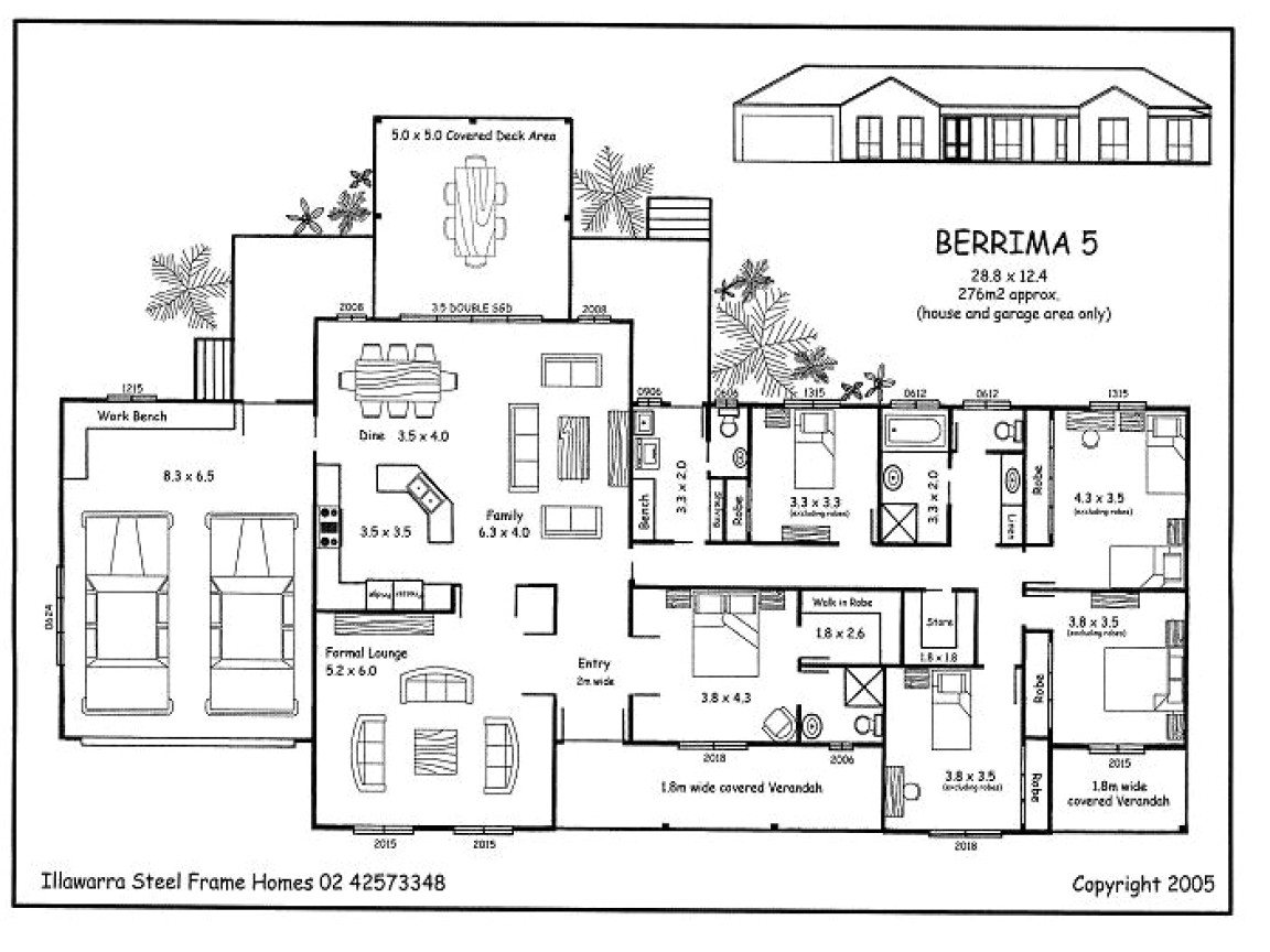 c05d74d05cd1d51c simple 5 bedroom house plans 5 bedroom house plans