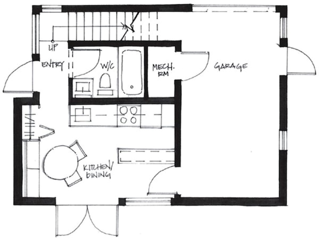 500 Sq Ft Home Plans 500 Sq Ft Cottage Plans 500 Sq Ft Tiny House Floor Plans
