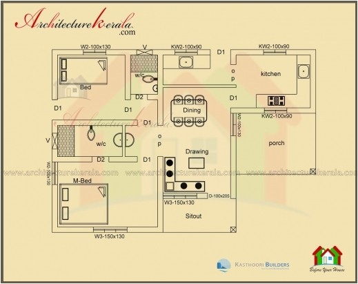 gorgeous 1000 sq feet house plans 500 sq ft house plans 2 bedrooms in india kerala home plans for 750 sq ft image