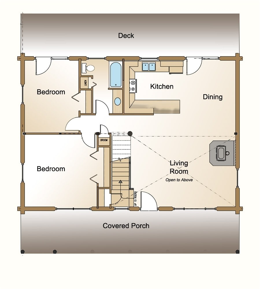 small house floor plans 500 sq ft
