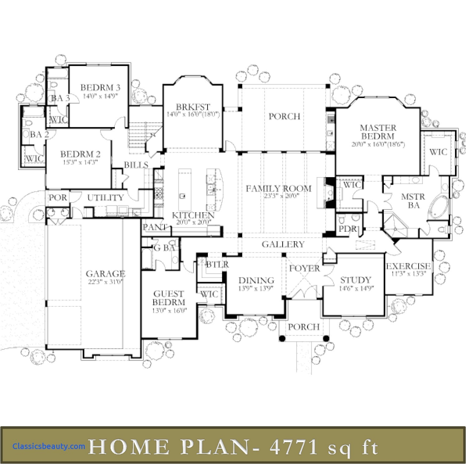 5000 square foot house designs