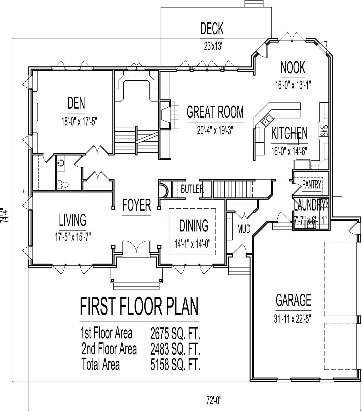house plans 4000 to 5000 square feet