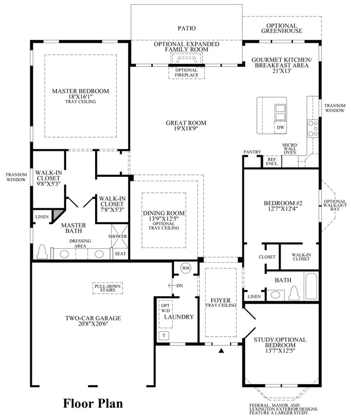 40 foot wide home plans