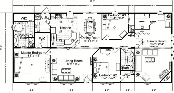 55 Wide House Plans Quadruple Wide Mobile Home Floor Plans 5 Bedroom  Wide House Plans on wide shaped homes plans, double wide addition plans, wide building, 40' wide home plans, wide mobile homes,