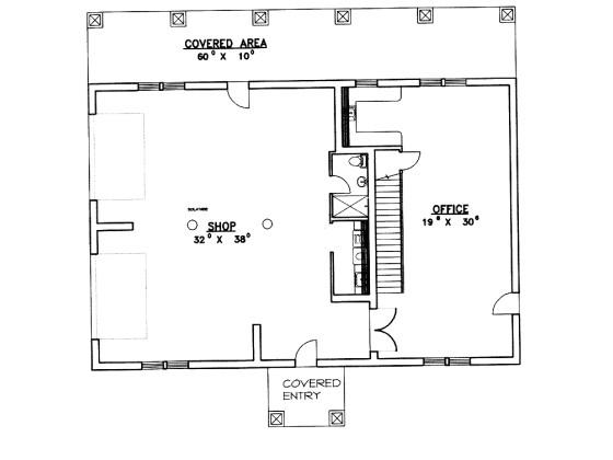 550 square feet