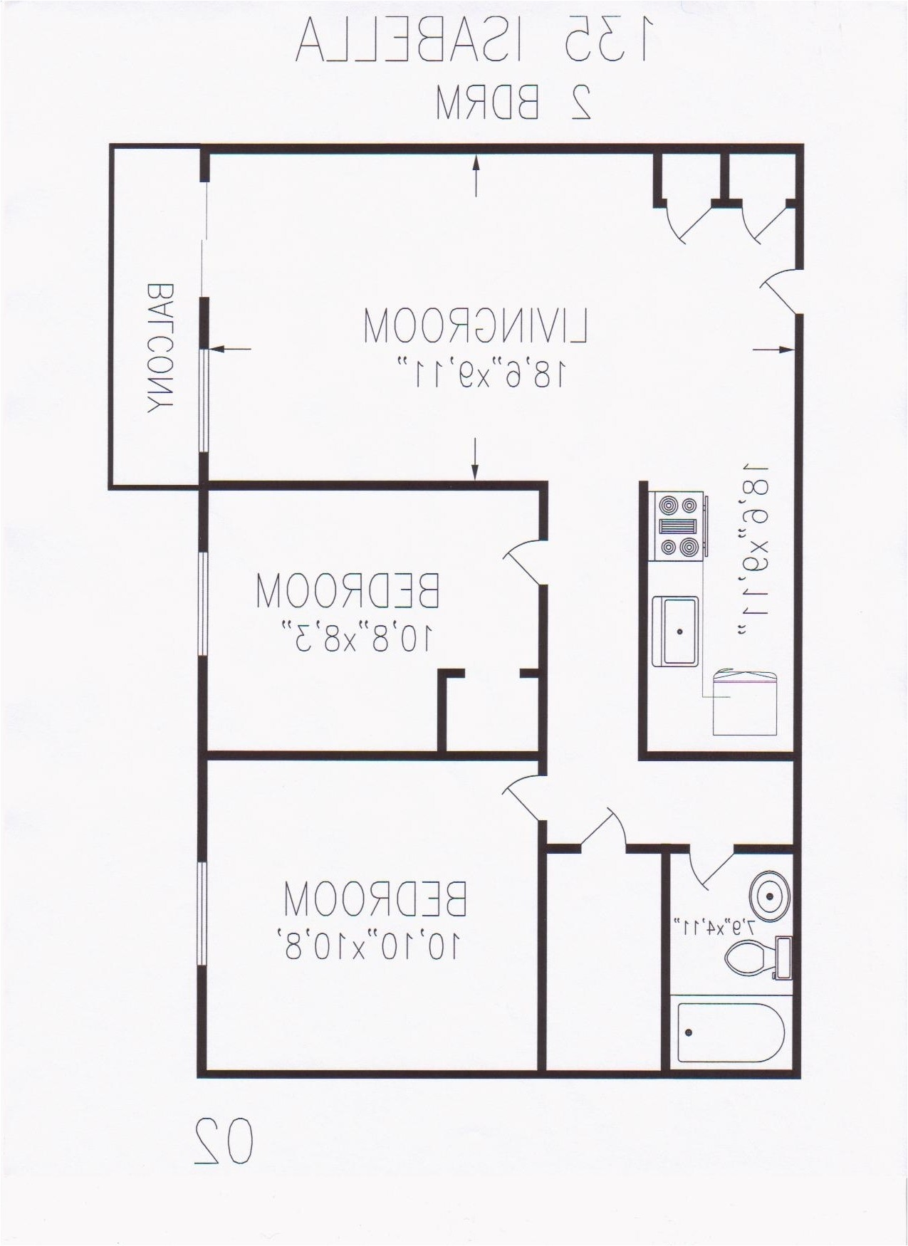 600 sq ft house plans 1 bedroom