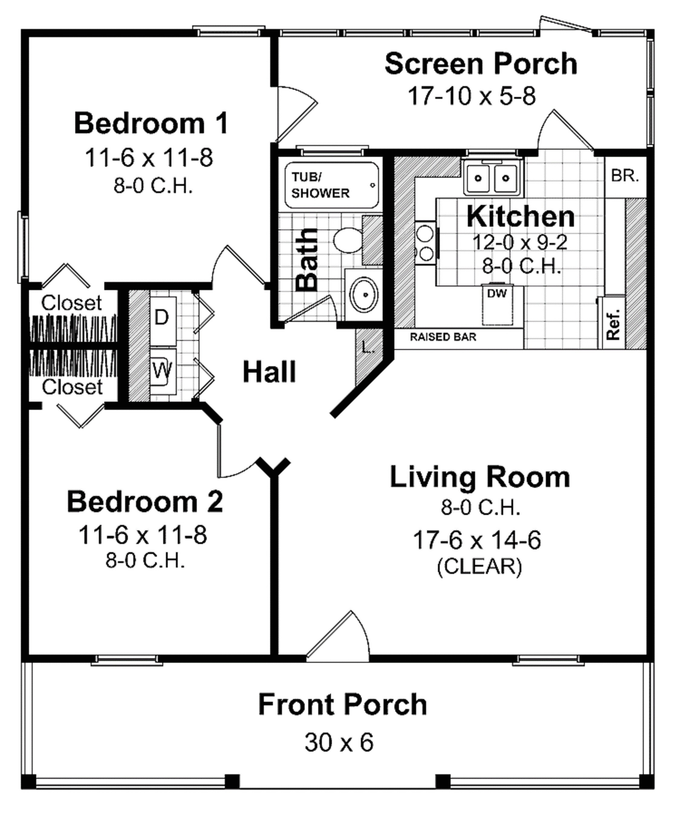 small home floor plans under 600 sq ft