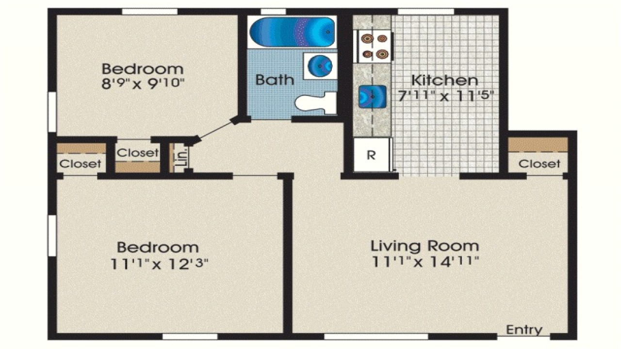 ab93fdaf3e75a7d9 600 square foot house 600 sq ft 2 bedroom house plans