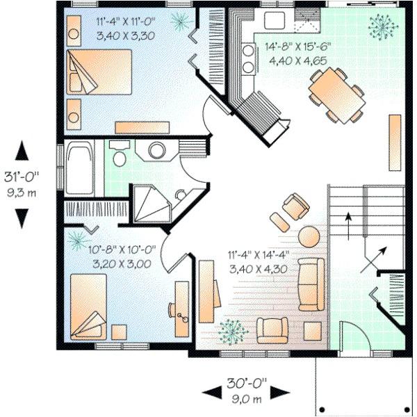 house plans 600 square feet
