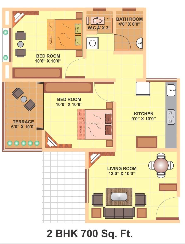 700 sq ft house plans vijay sancheti sketch book floor plan 22692