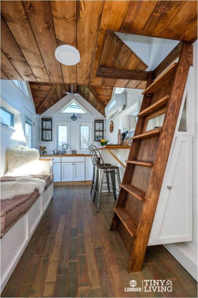 countryside tiny house 84 lumber rustic elegant 203sf