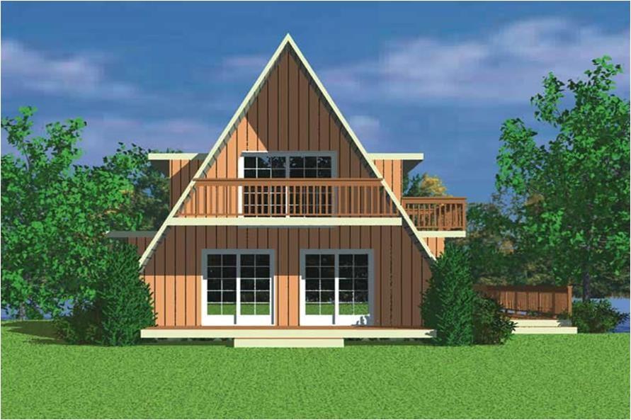 home plan 17981