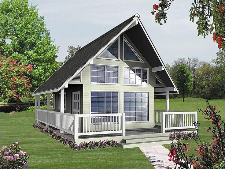 ... A Frame Homes Plans 010h 0001