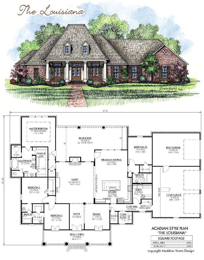 Acadian Home Plans Louisiana Best 25 Acadian House Plans Ideas On Pinterest Acadian