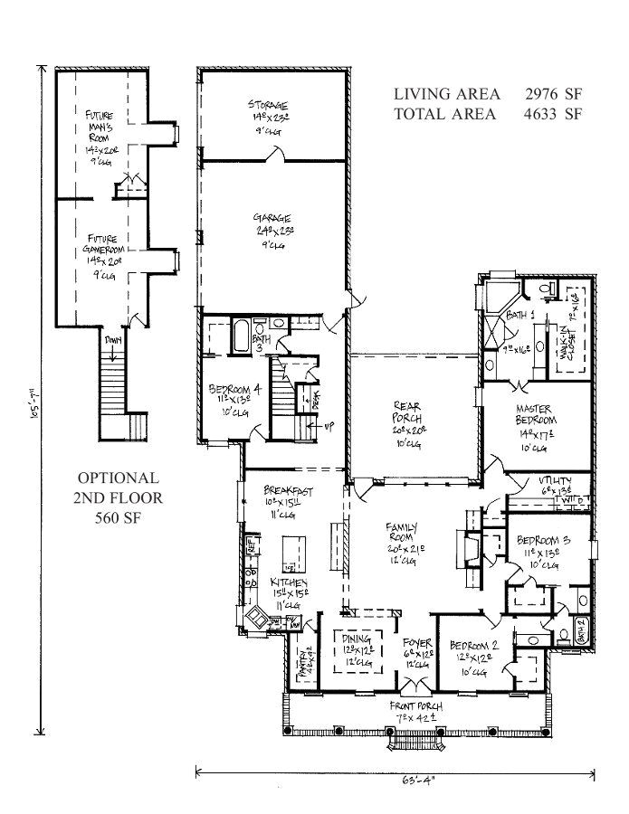 acadian house plans
